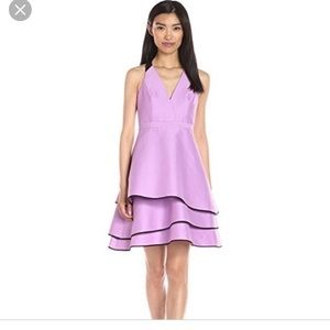New with tags Halston heritage purple halter dress